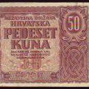 HRVAŠKE KUNE -1941 LETA