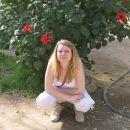 hiding behind the bush