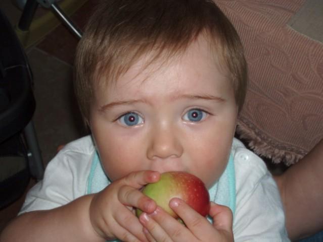 Giorgotova jabolka so zrela.