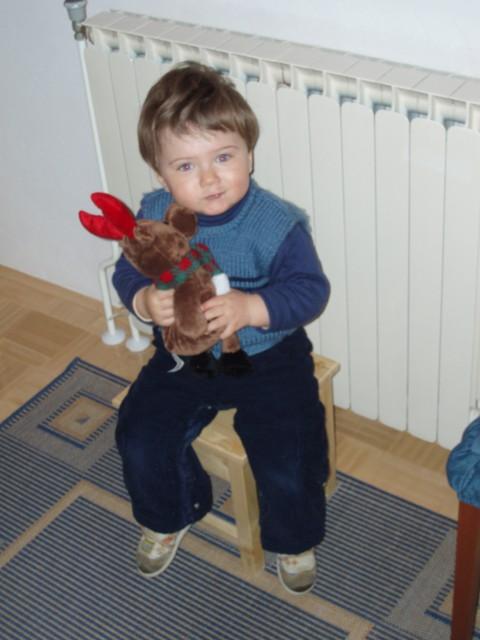 Jaz in Rudolf.