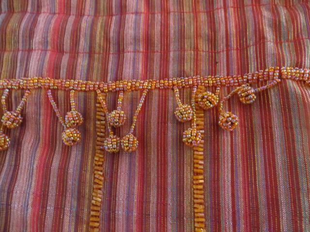2x unikatna svilena torbica - foto