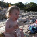 osvežilna pijačka na plaži