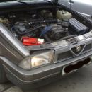 Alfa Romeo 75, 1.8 IE, l. 1993, 88 kW l. 1993, 147.000 km  klima, el. šipe & ogledala,
