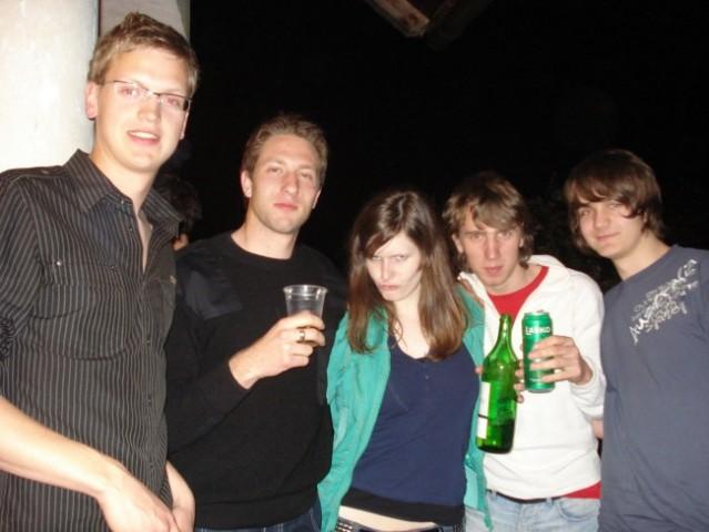 Žurka pri Ani , Tržič (25.4.2008) - foto