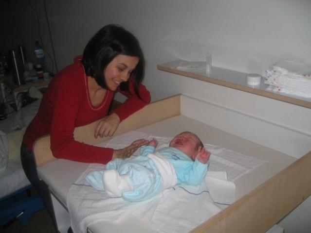 13.04.2008 Stigla mi je tetka Taca u posjetu