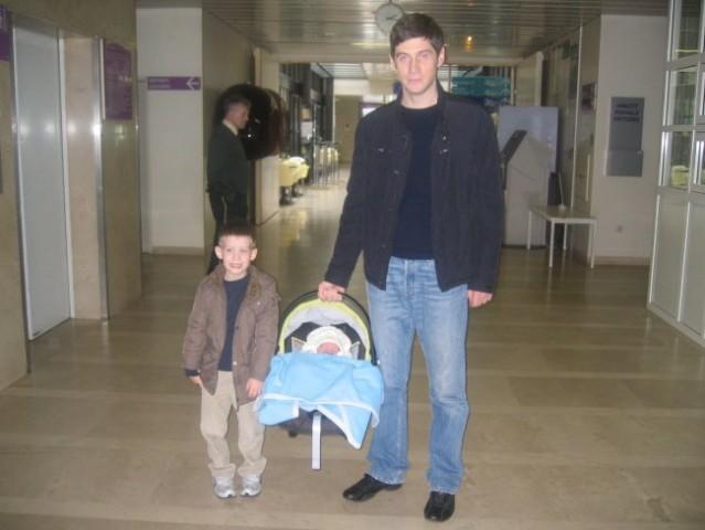 14.04.2008. U holu porodilista