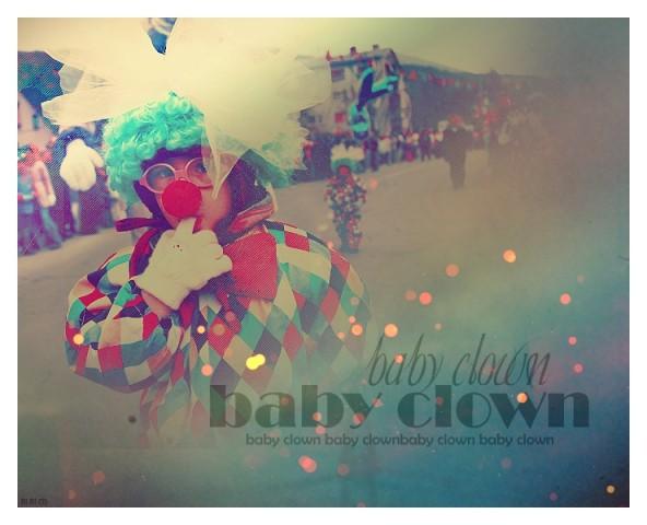 Baby clown!
