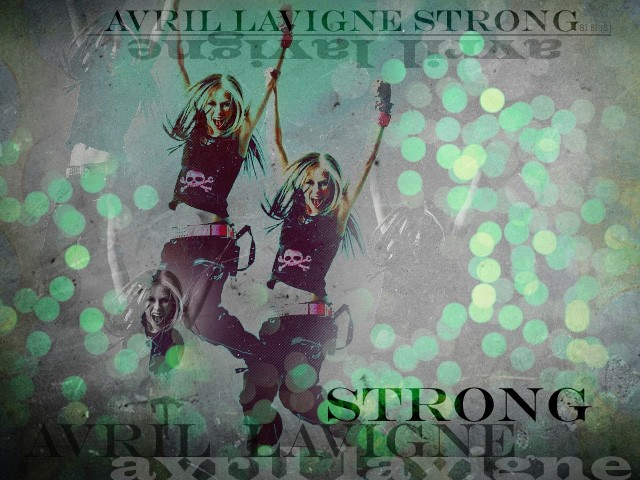 Avril=strong!
