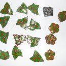 moi (material je Fimo masa, jesensko listje je rolica (cane), rožice so narejene po tehnik