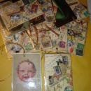 ROBA -  Osnova so antikvitetne razglednice (iz leta 1910-1938) - na popisani strani kolaž