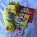 Pitka za vesoljčico - vaza, posodica za pisala, slika, nogavičke in čestitka