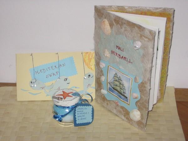 MAJČI ZA TITI (herbarij, morska sol & voščilnica)