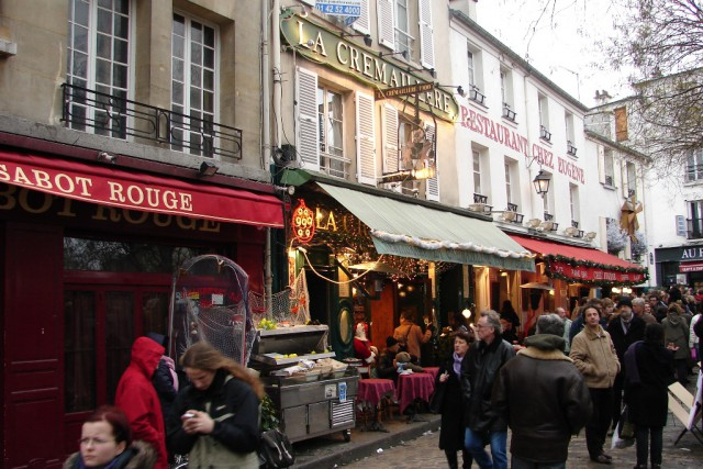 Pariz novo leto 2007 - foto