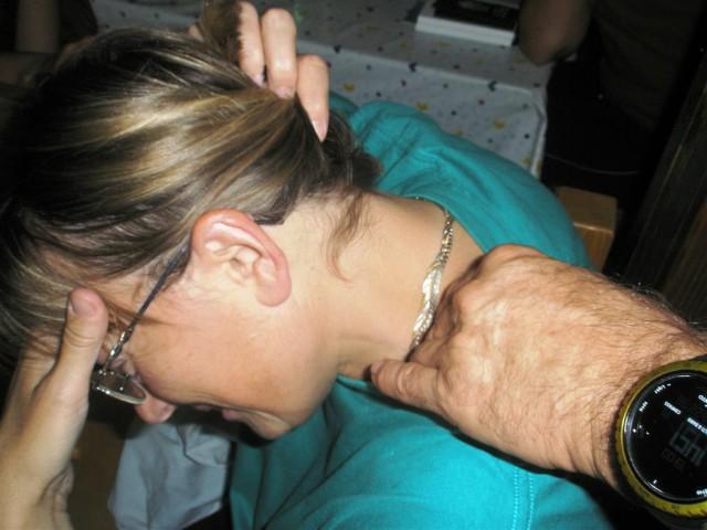 Ne, ne, to je masaža, da ne bo dileme