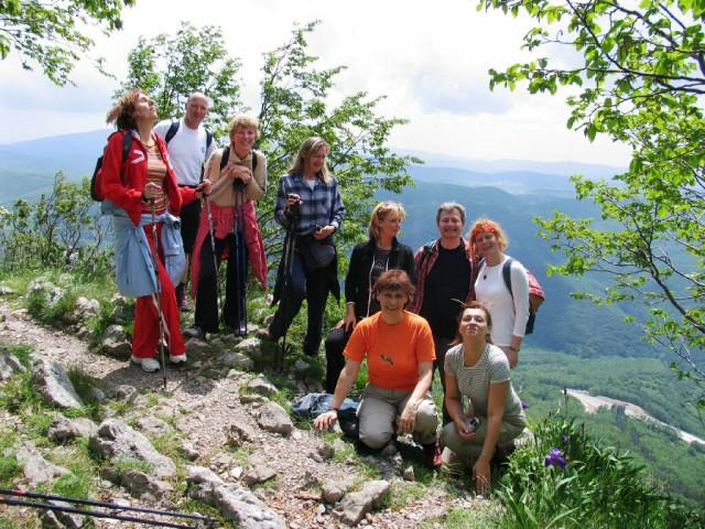 Počitek nad Vipavsko dolino