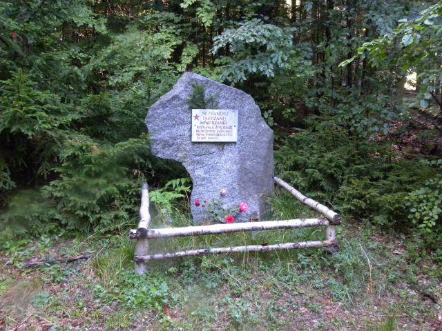 Legendarno Pohorje je polno partizanskih spomenikov