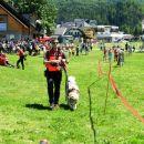 Priprava dveh gorskih reševalcev na reševanje