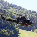Sodeloval je helikopter Slovenske vojske in ...