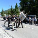 Predstavniki Združenja vojaških gornikov Slovenije