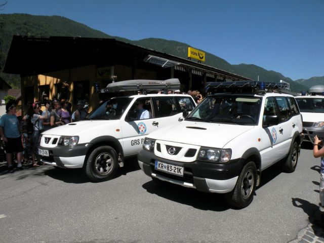 Sodobna voizila gorskih reševalcev