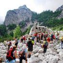 Spominski kraj nas je hkrati presunil in opopomnil na ogromno srčnost gorskih reševalcev
