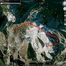 Miranov zapis poti v Google Earth-u ...