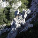 Kamnito rogovje ali držalo za veslo