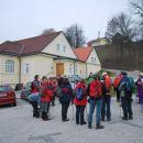 Jutranji zbor pred Isteničevo vilo