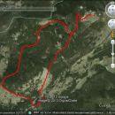 Miranova GPS sled opravljene poti