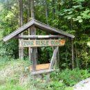 Na poti v dolino smo se tudi tu ustavili ...