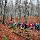 Naše korake je spremljalo šelestenje odpadlega listja