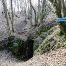 Blažev spodmol, ki vodi v Ocisko (Ocizeljsko) jamo
