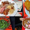 Kolaž dela ponudbe kuhinje Partizanskega doma