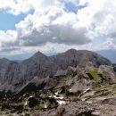 Dolina Krme je obdana z verigo gora