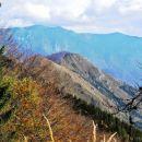 Ko smo se dvignili nad Planino Osredek, smo ugotovili, da smo zelo visoko