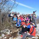 Kamni vrh in Grmada 16. 2. 2019