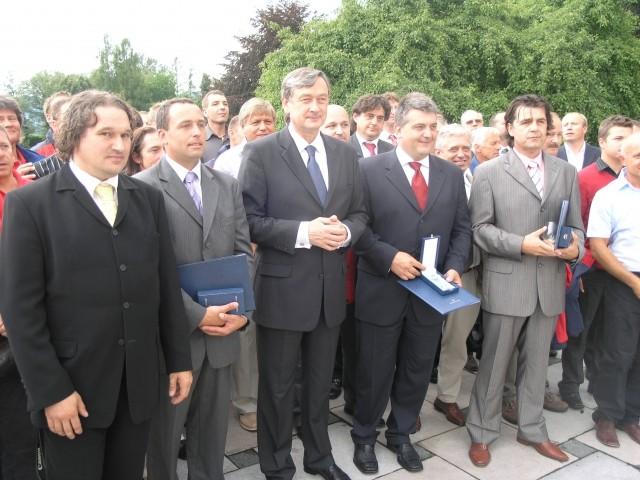 Sprejem pri predsedniku republike - foto