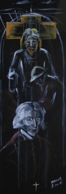 9-akril na papir, 70x31, 2004
