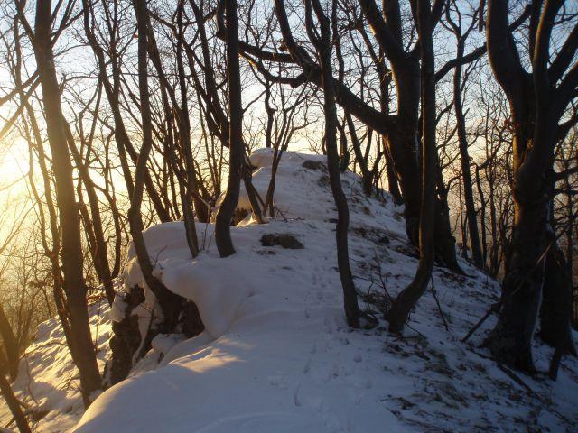 Dreveniška gora 782 m.n.v., 23.12.2011 - foto