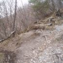 ...vzpon preko pečovja Galke iz ,,Panzeršper,,...
