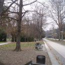 ...mestni park in tudi planinska pot...