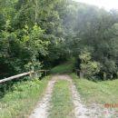 ...preko mostiča - potok Žičnica...