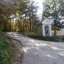 ...in med kapelicama nabiral kostanje ob in na cesti, tudi tukaj levo...