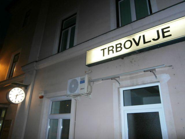 Železniška postaja Trbovlje...