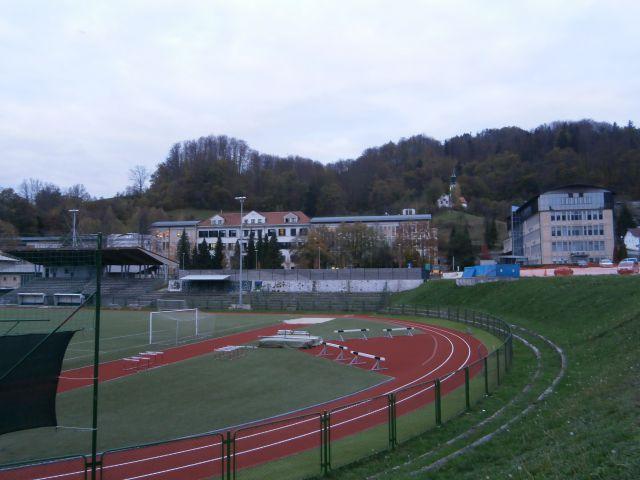 ...stadion Rudarja in bolnišnica Trbovlje...