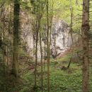 ...še pogled, vedno obvezno na plezališče na Boču...