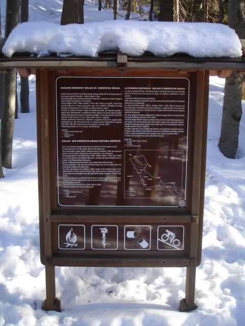 Območje Golakov in Smrekove drage je naravni rezervat
