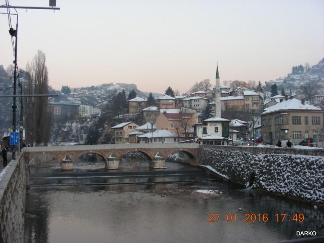 Sarajevo reka MILJACKA