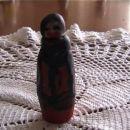Moja prva steklenička - Babuška. Žal je slika ful temna.