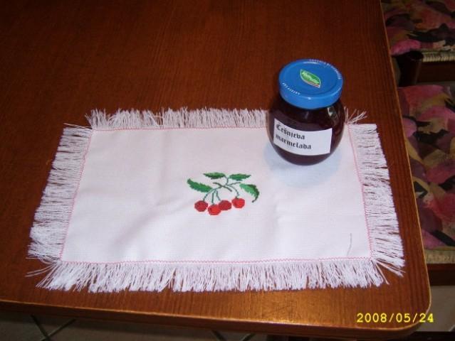 Češnjev prtiček za Dodo